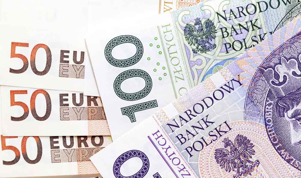 курс злотих до євро