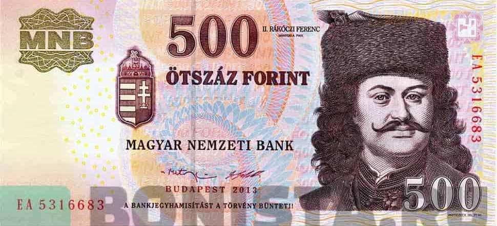 Курс венгерского форинта