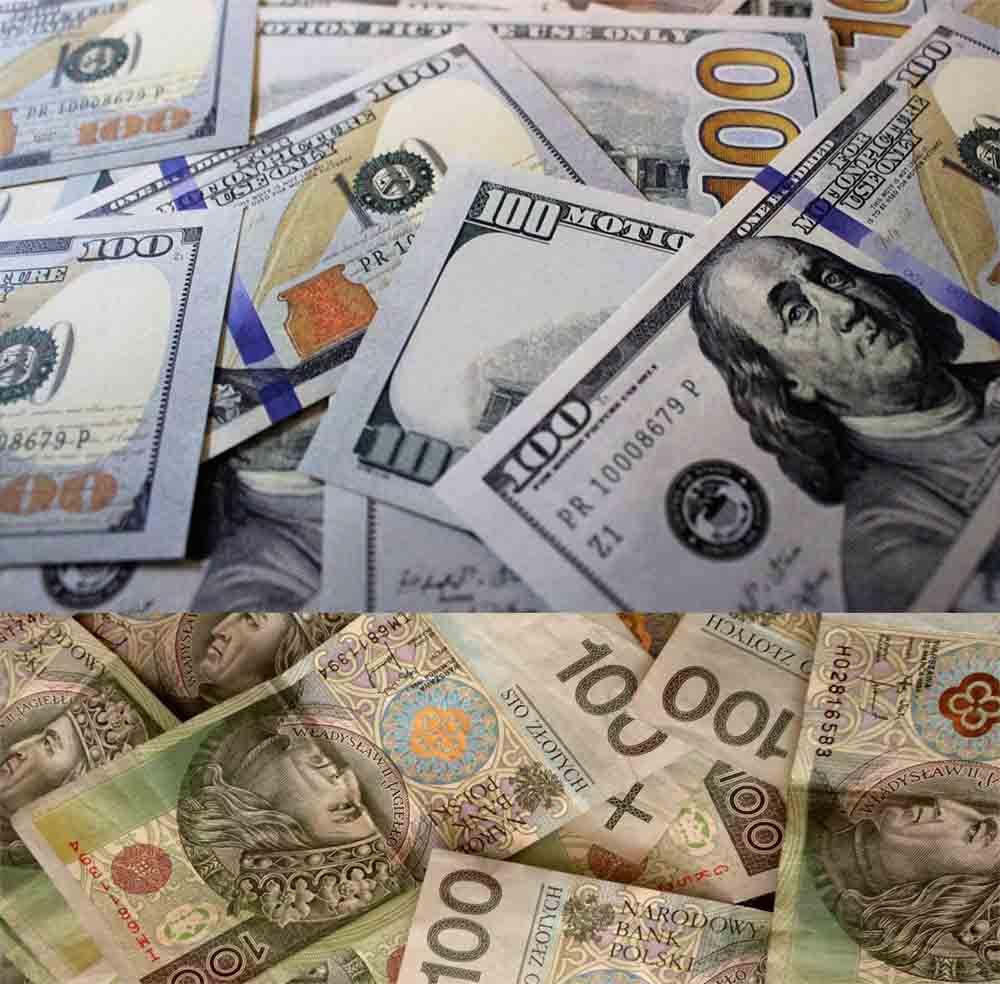 курс злотых к доллару
