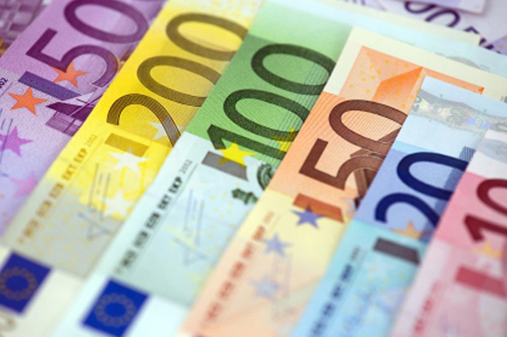 курс євро в банках Кривого Рогу