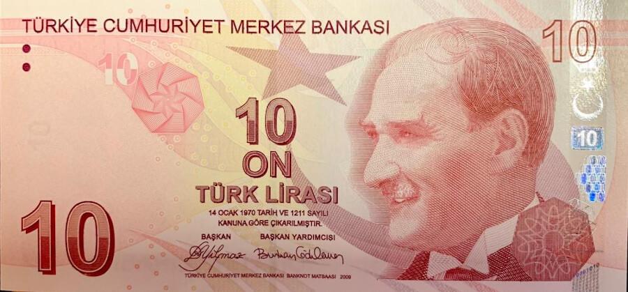 Курс валют турецкая лира к гривне
